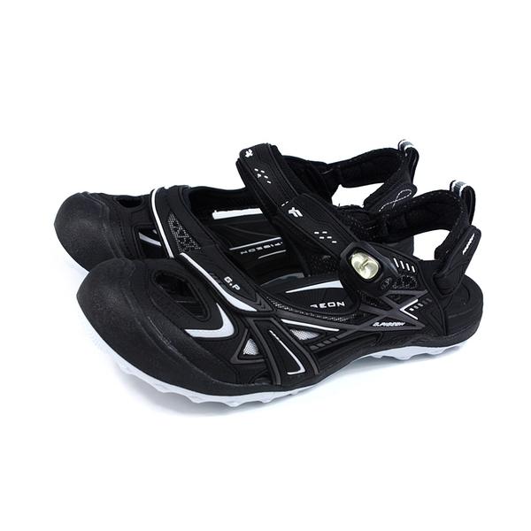G.P 阿亮代言 運動型 涼鞋 護趾 黑色 男鞋 G1642M-10 no460