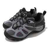 Merrell 戶外鞋 Yokota 2 Sport Mid GTX 灰 黑 女鞋 登山鞋【ACS】 ML036400