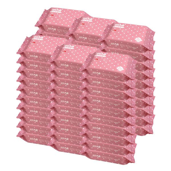 REAR 麗兒采家 EDI超純水嬰兒柔濕巾/濕紙巾 25抽60包|箱購