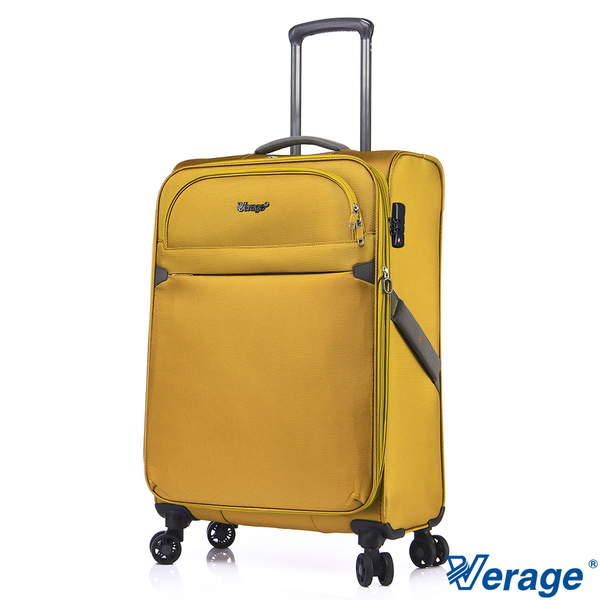 Verage ~維麗杰 24吋 城市經典系列旅行箱(黃)