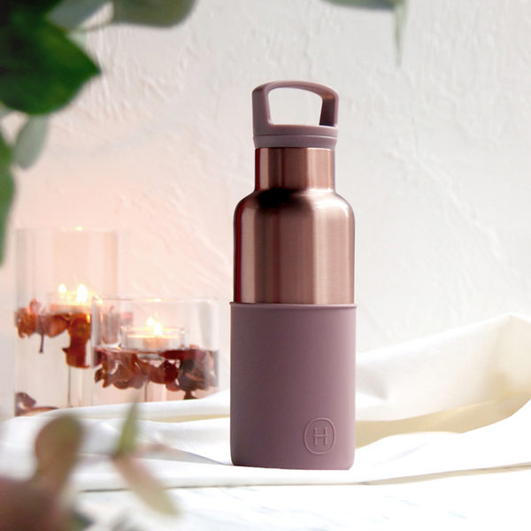 HYDY 乾燥玫瑰-蜜粉金瓶 時尚保溫水瓶 480ml