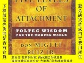 二手書博民逛書店The罕見Five Levels of Attachment: