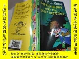 二手書博民逛書店horrid罕見henry and the bogey babysitter可怕的亨利和那個可怕的保姆Y212