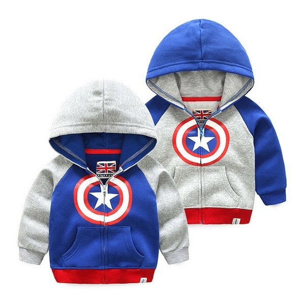 寶寶外套 連帽拉鍊外套 帽T 刷毛夾克 QY11411 好娃娃