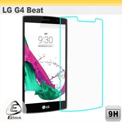 【Ezstick】LG G4 Beat 5.2吋 手機專用 鏡面鋼化玻璃膜 靜電吸附 144x71mm附