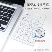 筆記本電腦usb藍牙數字小鍵盤免切換迷你有線外接數字鍵盤ATF  英賽爾3C