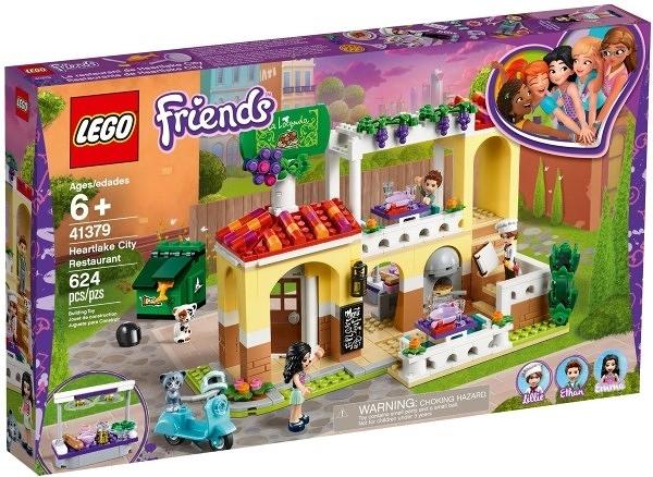 樂高LEGO FRIENDS 心湖城餐廳 Heartlake City Restaurant 41379 TOYeGO 玩具e哥