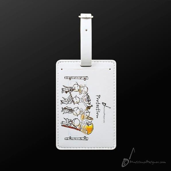 【小叮噹的店】全新 香港 MD LT014 管樂 演奏 protection 香港進口 精品 皮製 設計款