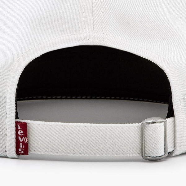 Levis 男女同款 可調式環釦棒球帽 / 全一色Serif Logo刺繡※滿4件送限量托特包x1