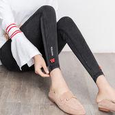 2018新款韓版百搭W打底褲外穿九分高腰黑色小腳鉛筆女褲春秋薄款   八折免運 最後一天