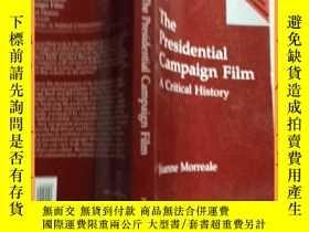 二手書博民逛書店英文書罕見the presidential campaign film 總統競選影片Y16354 請見圖片 請