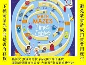 二手書博民逛書店Math罕見Mazes: Times TablesY346464