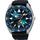 SEIKO 精工 PROSPEX GMT 菁英人動電能腕錶-藍/45mm 5M85-0AE0B(SUN059P1)