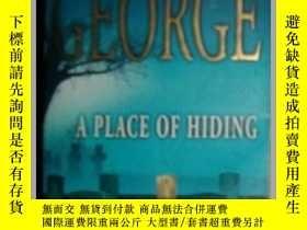二手書博民逛書店A罕見PLACE OF HIDING 隱藏的地方Y3615 EL