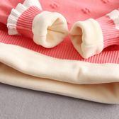 兒童毛衣兒童毛衣秋冬新款童裝寶寶針織衫純棉加厚加絨套頭打底線衣女伊芙莎
