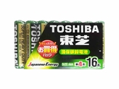 東芝環保碳鋅電池4號16入