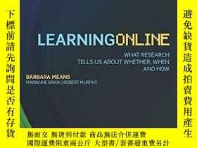 二手書博民逛書店Learning罕見OnlineY256260 Barbara Means Routledge 出版2014