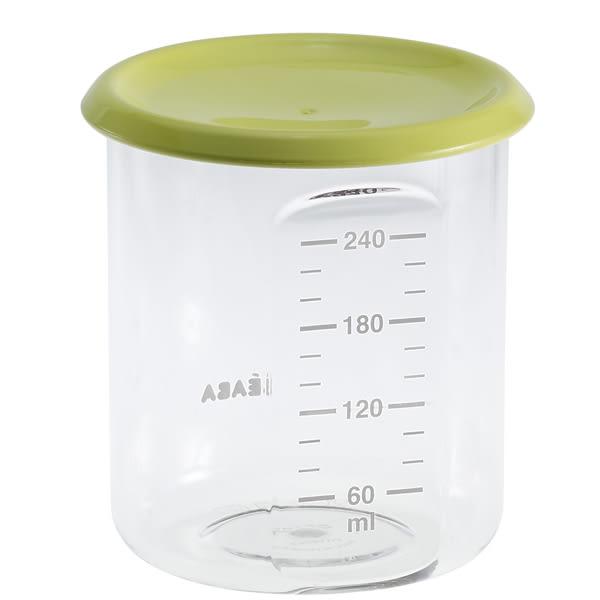 BEABA Food Jar Baby Portion 副食品儲存罐240ml(花色隨機出貨)