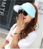 夏季防紫外線可折疊光療美膚沙灘戶外遮陽帽PLL3831【男人與流行】