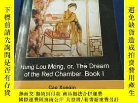 二手書博民逛書店hung罕見lou meng,or,the dream of t