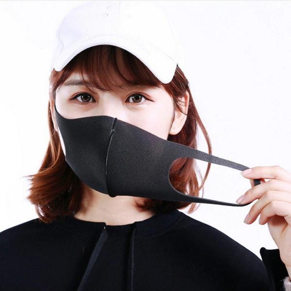 【DK387】海綿立體口罩1入(成人款) 防塵 防霾重複使用mask明星鹿晗同款 EZGO商城