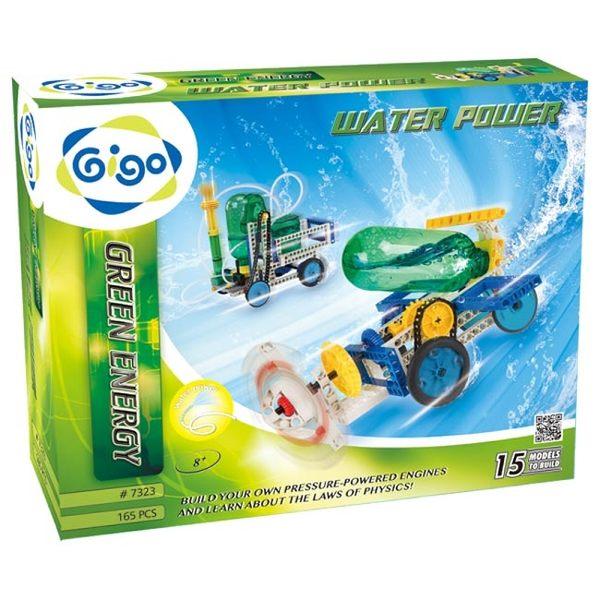 智高GIGO TOYS 第一代氣壓水動-噴水車 綠色能源系列#7323-CN