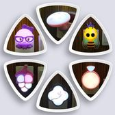 小夜燈 插電床頭臥室寶寶喂奶燈LED光控小夜燈插座燈帶開關起夜燈   mandyc衣間