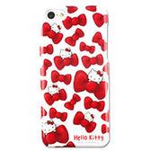 iPhone5C 日本三麗鷗原廠 HelloKitty白底甜美蝴蝶結 手機硬殼 (第二件1元)