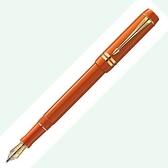 Parker2014派克大世紀Duofold 18K750鋼筆*橙色