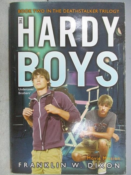 【書寶二手書T1/原文小說_MOU】The Hardy Boys_Franklin W. Dixon