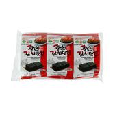 韓國 SAMWON 泡菜口味海苔 4g*3 ◆86小舖 ◆