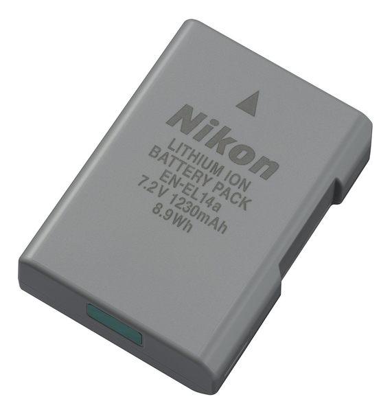 Nikon EN-EL14A ENEL14A 原廠鋰電池