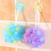 彩色大號海綿沐浴球搓澡巾 柔軟多泡沫搓背浴擦洗澡澡花沐浴花·享家生活馆
