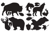 GEAR AID GEAR PATCHES 造型修補貼片 野生動物 黑