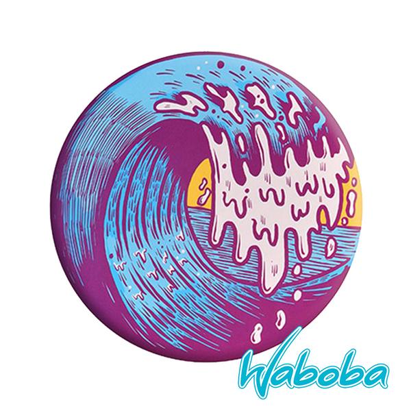【Waboba】軟式飛盤/藝術家 系列1『海浪』304C01 戶外 出遊 沙灘 海岸 親子 遊戲 兒童 公園 飛盤