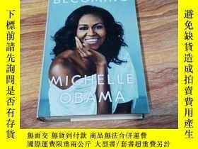 二手書博民逛書店Becoming罕見米歇爾·奧巴馬自傳 美國前總統夫人 英文原版 Michelle Obama 精裝Y2900