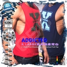 ADDICTED X LARGE寬肩健身背心 激凸性感 猛男必備  MT0102