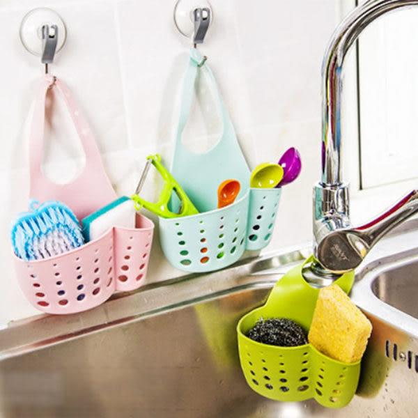 廚房用品   廚房可掛式水槽瀝水籃子 廚房用具   瀝水盆 瀝水框 瀝水籃 【KFS054】-收納女王