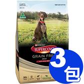 【寵物王國】斯博康-天然無穀成犬牛肉配方(小顆粒) 2.5kg x3包 (112995)