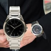 A/X Armani Exchange 亞曼尼 AX2618 簡約風格百搭腕錶/銀黑44mm 熱賣中!