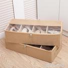加厚透明鞋盒床底收納靴子鞋袋可組合鞋子收納箱鞋子收納盒長靴盒 YDL