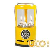 【UCO】UCO GEAR 蠟燭大吊燈『黃』C-C-STD 野外求生 露營 登山 戶外 蠟燭 氣氛燈 營燈