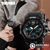 手錶 防水電子錶男兒童學生成人登山兵多功能運動手錶
