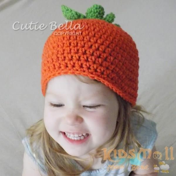 Cutie Bella手工編織帽Fruit-Pumpkin