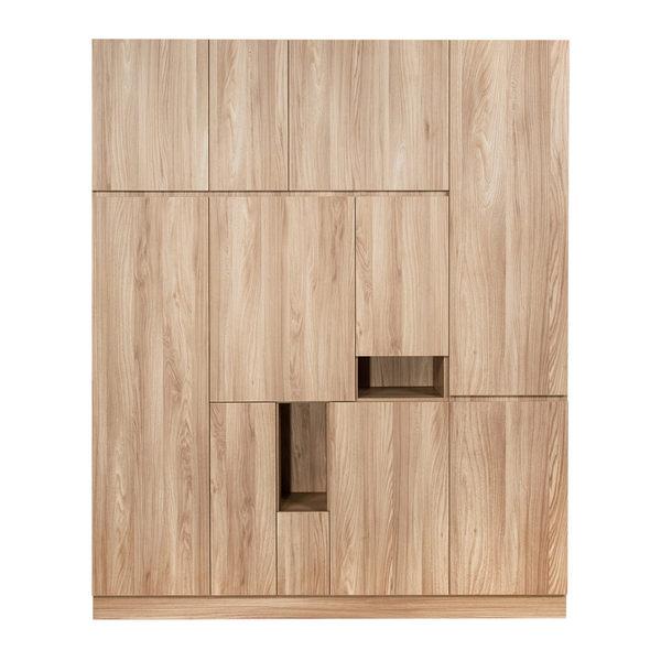 【Arkhouse】伯利恆系列-玄關多門完美右款高鞋櫃 W180*H218*D38