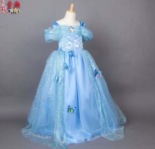 衣童趣 ♥白雪公主紡紗裙子 萬聖節兒童洋裝 兒童動漫cosplay服裝灰姑娘演出服