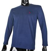 BURBERRY 紳士透氣排汗棉質上衣(藍色)085207-2/-3