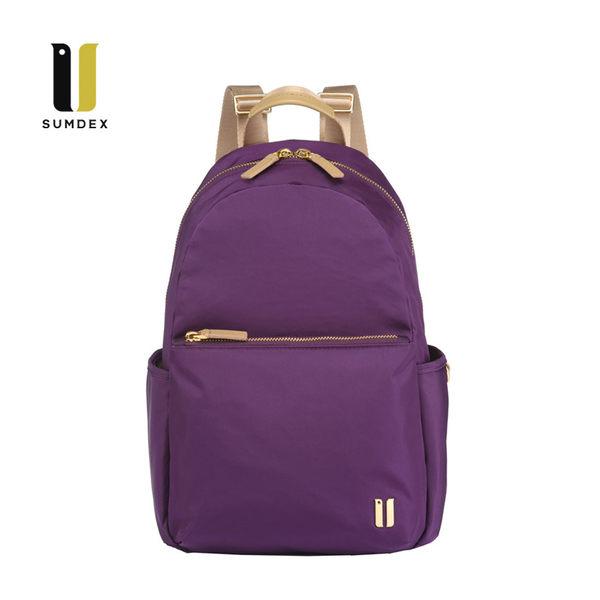 SUMDEX平板輕巧後背包NOD-770PU紫色