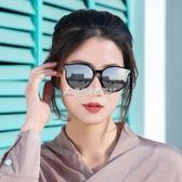 偏光太陽鏡女防紫外線2020年春季圓臉大臉眼鏡墨鏡女 酷斯特數位3c