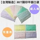 【台灣製造】MIT鋼印平面口罩 50入實...